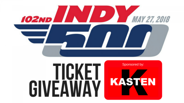 Indy 500 Ticket Giveaway