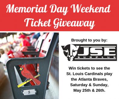 Memorial Day Weekend Cardinals Tickets