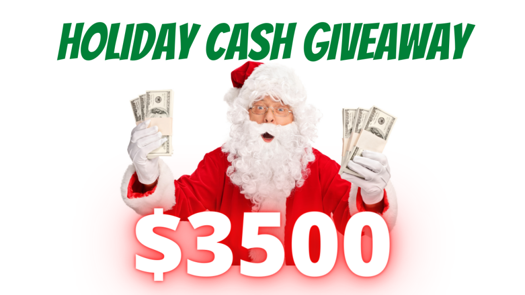 Holiday Cash Giveaway 2020
